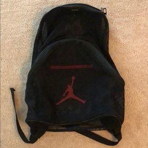 Air Jordan mesh backpack